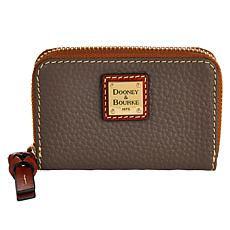 Dooney & Bourke Pebble Leather Ziparound Credit Card Case