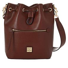 Dooney & Bourke Saffiano Leather Drawstring Bag