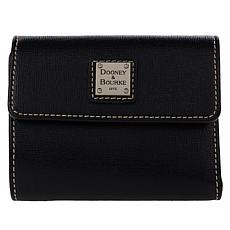 Dooney & Bourke Saffiano Leather Small Flap Wallet - Core