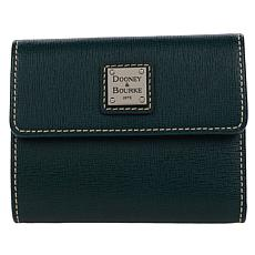 Dooney & Bourke Saffiano Leather Small Flap Wallet - Fashion