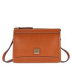 Dooney & Bourke Saffiano Leather Zip Crossbody - Core