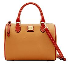 Dooney & Bourke Trudy Pebbled Leather Satchel
