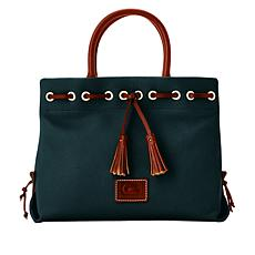 Dooney & Bourke Wakefield Leather Tassel Tote