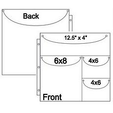 Double Sided Duo 4x1 Storage Page