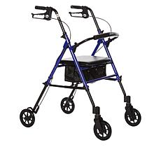 Drive Medical Economy Adjustable Height Rollator