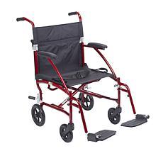 Drive Medical Fly Lite Lightweight Transport Chair