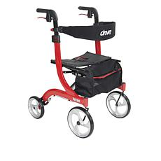 Drive Medical Nitro Euro Style Adjustable Rollator Walker