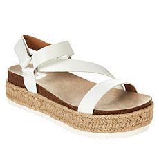 dv Dolce Vita Itzy Espadrille Molded Footbed Platform Sandal