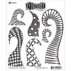 Dyan Reaveley's Dylusions Cling Stamp Collections 8.5X7 - Doodle De...