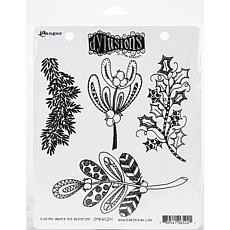 Dyan Reaveley's Dylusions Cling Stamp Collections 8.5X7 - Mistletoe