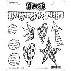 Dyan Reaveley's Dylusions Cling Stamp Collections 8.5X7 - Star Struck