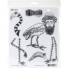 Dyan Reaveley's Dylusions Cling Stamp Collections 8.5X7 - Waddle