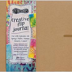 Dyan Reaveley's Dylusions Creative Flip Journal 12X8.5 - Kraft