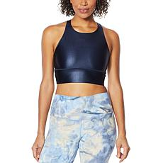 DYI High-Neck Racerback High-Shine Bra