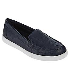 easy spirit Board Leather Slip-On Sport Moccasin