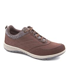 easy spirit PullTab Suede Lace-Up Walking Sneaker