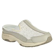 easy spirit Traveltime Leather Sequined Clog