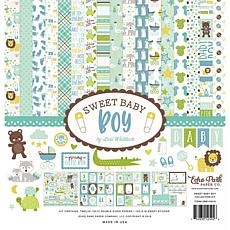 Echo Park Collection Kit 12X12 - Sweet Baby Boy