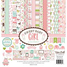 Echo Park Collection Kit 12X12 - Sweet Baby Girl