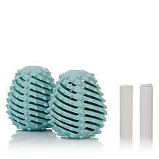 Ecoegg Reusable Dryer Eggs with Fragrance Sticks 2-pack