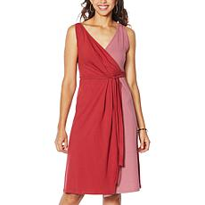 "Eden & Ivy ""Poppy"" Wrap Tank Dress"