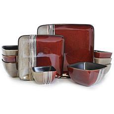 Elama Downtown Loft 16-piece Dinnerware Set