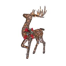 Electric Vine Standing Buck Christmas Yard Décor