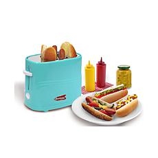 Elite Americana Blue Hot Dog Toaster