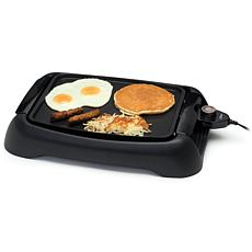 "Elite Cuisine 13"" Countertop Indoor Electric Griddle"