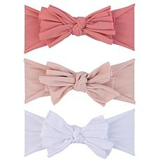 Ely's & Co. Jersey Cotton Bow Headbands 3-pack