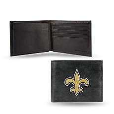 Embroidered Billfold - New Orleans Saints