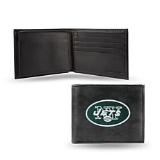 Embroidered Billfold - New York Jets