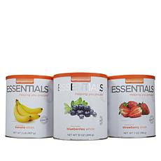 Emergency Essentials® Fruit Variety 3-pack