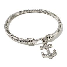 "Emma Skye ""She Shore Chic"" Anchor Bangle"