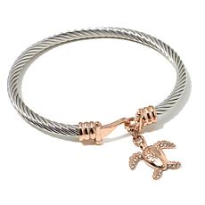"Emma Skye ""She Shore Chic"" Sea Turtle  Bangle"