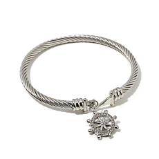 "Emma Skye ""She Shore Chic"" Ship Wheel Bangle"