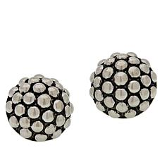 Emma Skye Stainless Steel Beaded Stud Earrings