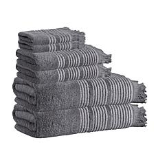 Enchante Home Ellen 6-piece Turkish Cotton Bath Towel Set