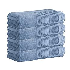 Enchante Home Ellen Set of 4 Turkish Cotton Bath Towels