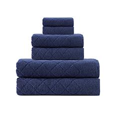 Enchante Home Gracious 6-piece Turkish Cotton Bath Towel Set