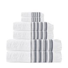 Enchante Home Monaco 6-piece Turkish Cotton Bath Towel Set