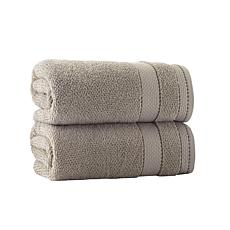 Enchante Home Monroe Set of 2 Turkish Cotton Bath Towels
