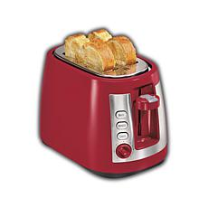 ensemble Extra-Wide Slot 2 Slice Toaster