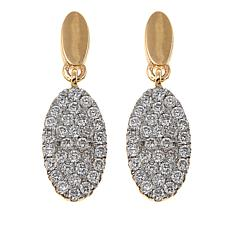 Ever Brilliant 0.41ctw Lab-Grown White Diamond Drop Earrings