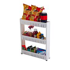 Everyday Home 3-Tier Mobile Shelving Unit