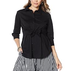 Evryday Jane Tie-Front Shirt