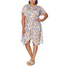 Evryday Jane Tie-Waist T-Shirt Dress