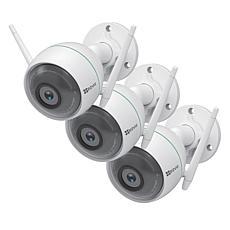 EZVIZ C3WN 3-pack 1080p Full HD Outdoor Smart Wi-Fi Camera