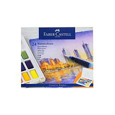 Faber-Castell Watercolor Pan Set of 24