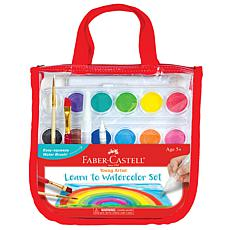 Faber-Castell Young Artist Learn to Watercolor Set each